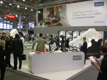 The Lurch stand at the Ambiente show in Frankfurt