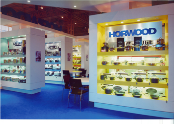 The Horwood stand at the International Spring Fair (ISF) in Birmingham