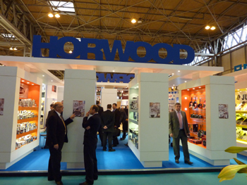 The Horwood stand at the Spring Fair in Birmingham